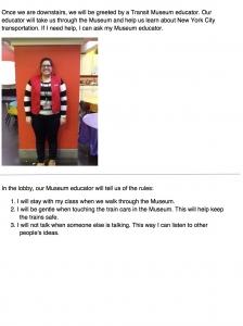Introducing the Transit Museum Educator