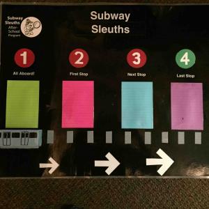New York Transit Museum Subway Sleuths After-School Program