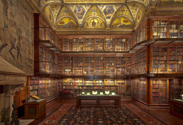 view of the Morgan Library
