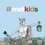 Logo for The Metropolitan Museum of Art #MetKids. Click for learning resources and activities to explore at home.