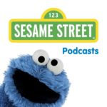 Logo for Sesame Street podcast. Click to listen.