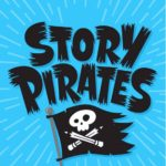 Logo for Story Pirates podcast. Click to listen.
