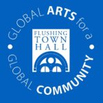 Logo for Flushing Town Hall. Click for learning resources and activities to explore at home.